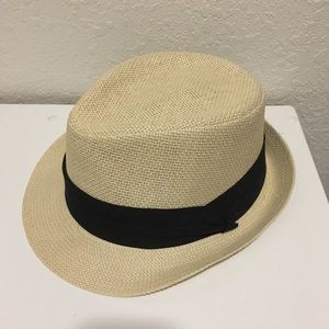 d6eaf12027c17 Merona (Target) straw fedora hat new without tags